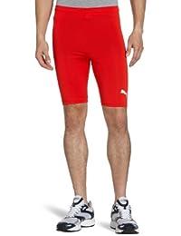 6cc8fb596c95 Puma Men s Cycling Running Tight Training White Shorts