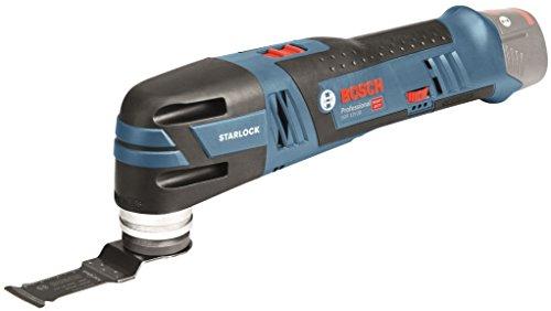 Bosch Professional 06018B5002 GOP 12 V-28 Akku-Multi-Cutter ohne Akku, 1x Tauchsägeblatt, L-Boxx, 12 V