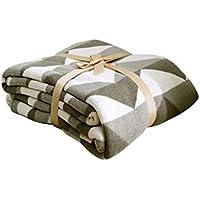 XDFCV Textiles,warmes Innenzubehör Dekoration Decke Baumwolle Kleine Decke Sofa Freizeit Decke Decke Baumwolle