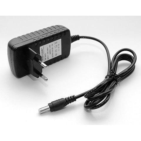 Cargador / adaptador universal de CA 12V 2A 24W 2000mAh 5,5mm x 2,1mm para LCD TFT monitor, router