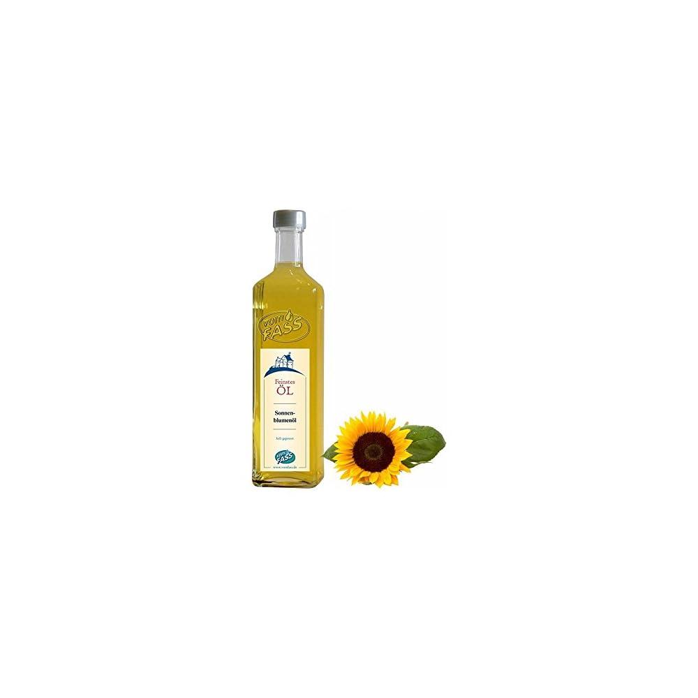 Vom Fass Sonnenblumenl Bio 1er Pack 1 X 500 Ml