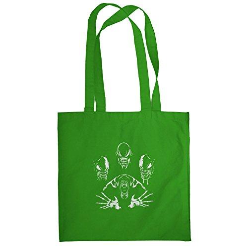Texlab–The Extraterrestrial Queen–sacchetto di stoffa Verde