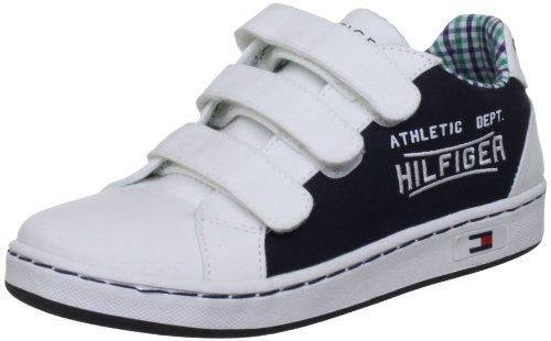 Tommy Hilfiger Cooper 4b, Chaussure de sport garçon Bleu - midnight