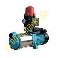Water Pump 130L/MIN 1.3kW 230V with Pressure Switch Brio Protection Against Dry Running Jet Pump Domestic Water Garden Pump Centrifugal Pump