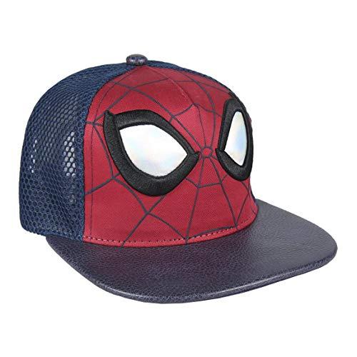 ARTESANIA CERDA Gorra New Era Spiderman, Niños, Azul, M (Tamaño del Fabricante:56)