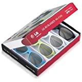 LG Party Coloured Pair of 3D Glasses (Pack of 4)