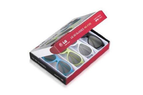 LG AG-F315 3D Party Pack mit 4 Cinema 3D Brillen für LG 3D Cinema TV (3d-brille Lg)