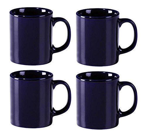 rastal Kaffeebecher, blau, 4-teilig