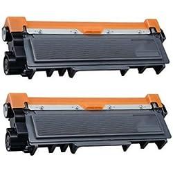 Prestige Cartridge TN2320 Kit 2 Toner compatibile per Stampanti Brother DCP/HL/MFC