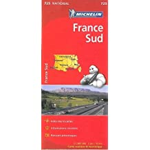 Carte France Sud Michelin