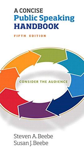 A Concise Public Speaking Handbook: Concis Public Speaki Handbo_5