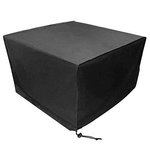 Housse de protection étanche pour meuble de jardin - Bâche de protection résistante aux intempéries et aux déchirures - 123*123*74cm - Anti-UV - Anti-pluie - Anti-poussière