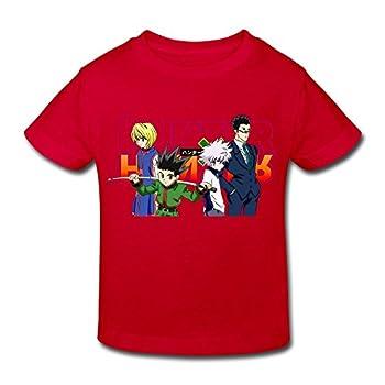 Kids Toddler Hunter X Hunter Little Boys Girls T Shirts Red Size 4 Toddler 0