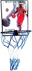 Raisco Basketball Ring with 3 Basketball Size with Net for Boys and Girls