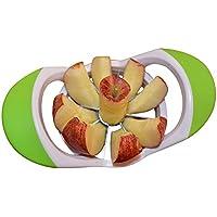 Apfelschneider Apfelausstecher Apfelteiler aus Edelstahl mit Kunststoffrahmen Grau - by SWEESE