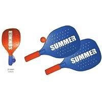 coppia racchette beach tennis summer slam colori assortiti sport one - Slam Racchette
