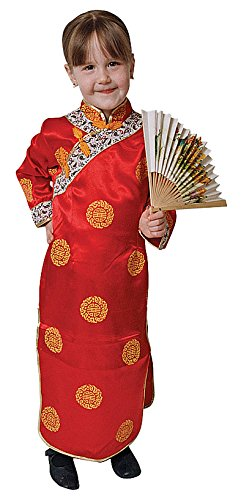 Dress Up America Deluxe Chinesisches Mädchen Kostüm Set