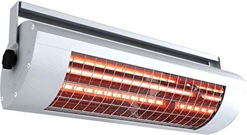 Radiateur infrarouge Solamagic sm-g386 LG-1400 W, Low Glare, Couleur : Blanc, tension : 230 V