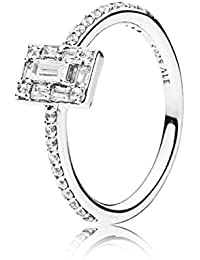 e2bcb2c77 Pandora Women Silver Stacking Ring - 197541CZ-54