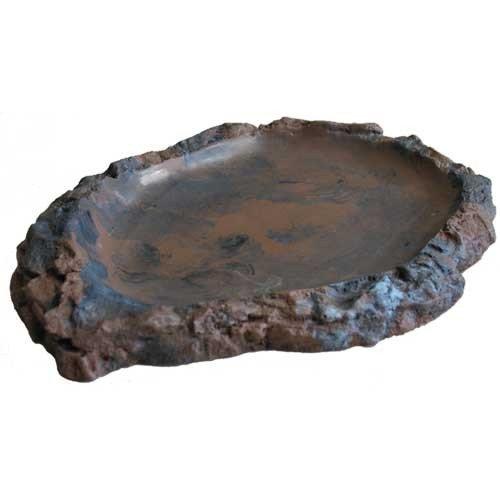 Trinkschale flach L, 17x22,5x2 cm