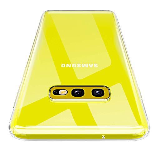 AINOYA Custodia per Galaxy S10E, Morbido TPU Cover Cristallo limpido Trasparente Slim Anti Scivolo Protezione Case Samsung Galaxy S10E.