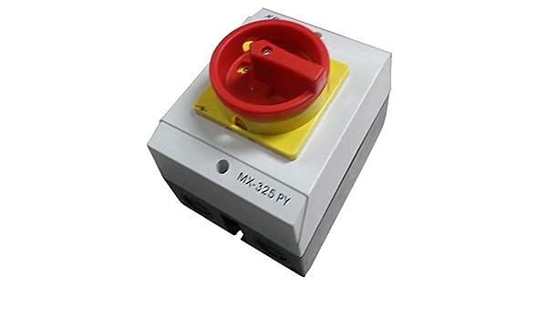 Hauptschalter 25A Reparaturschalter MX-325PY Gehäuse Lasttrennschalter XBS