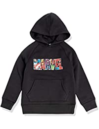 Amazon Essentials Disney Star Wars Marvel Fleece Pullover Sweatshirt Hoodies Fashion-Hoodies Garçon
