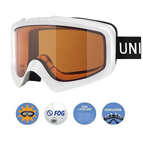Unigear Gafas Esquí OTG Esquiar Protección