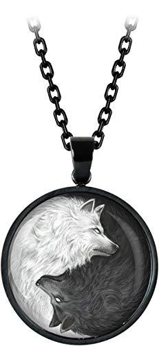 Mysterium® Wolves Pack Halskette schwarz