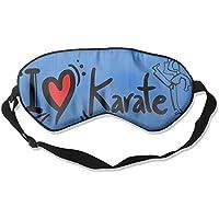 I Love Karate 99% Eyeshade Blinders Sleeping Eye Patch Eye Mask Blindfold For Travel Insomnia Meditation preisvergleich bei billige-tabletten.eu