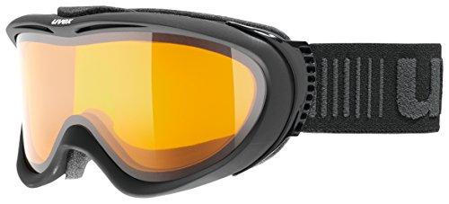 Uvex Comanche LGL Skibrille, Black Mat, One Size