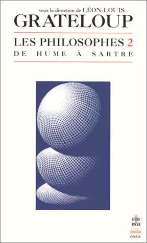 Les Philosophes, volume 2 : De Hume  Sartre