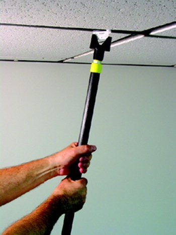 Ceiling Hanglers Grid Clip Put-er Up-er 1/pk by The Stikkiworks Co. -