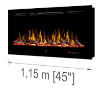 Noble Flame Paris 1150 [Electric Fireplace Wall Recessed/Wall Mounted]