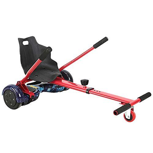 LMEI-HBSITZ Hoverboard Sitz, Einziehbarer Hoverboard-Kartsitz, Sicherheits-Scooter-ZubehöR, FüR Alle Selbstausgleichenden Hoverboard-Scooter (6,5-10 Zoll) / Kinder Und Erwachsene