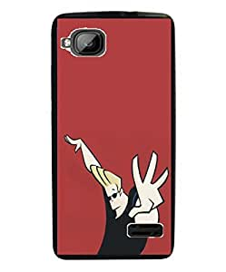 Techno Gadgets back Cover for Micromax Bolt S300
