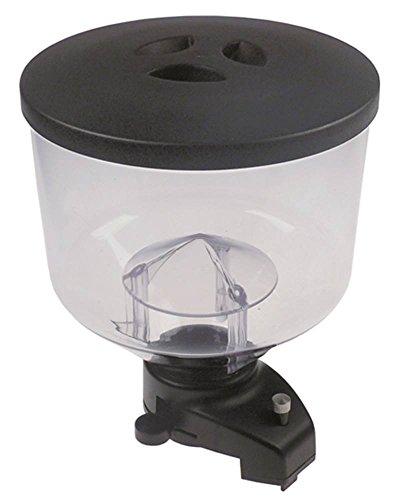 Kaffeebohnenbehälter für Kaffeemühle Mazzer MAJOR, ROBUR, ROYAL, Astoria-Cma M-1 Höhe 260mm ø 208mm Aufnahme ø 61mm komplett