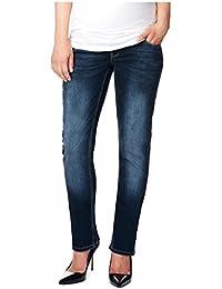 Noppies Damen Straight Leg Umstands Jeans OTB comf Lois PLUS