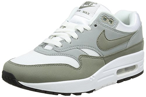 Nike Damen WMNS AIR MAX 1 Gymnastikschuhe Beige (Whitedark Stucco Li G H T Pumiceblack 105) 40 EU
