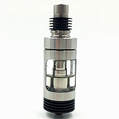 DIY-24H - Heat Sink 510er Anschluss für Verdampfer aus Edelstahl in Schwarz DripTip Atomizer Drip Tip Heatsink von DIY-24H
