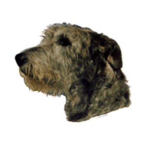 Schwandt-Heimtierbedarf World Stickers 13057Sticker for Warning Sign 140x 160mm Pack of 2Irish Wolfhound