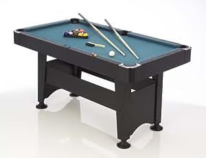 Schmidt Sportsworld Billardtisch  Chicago 4ft., schwarz, 155 x 85