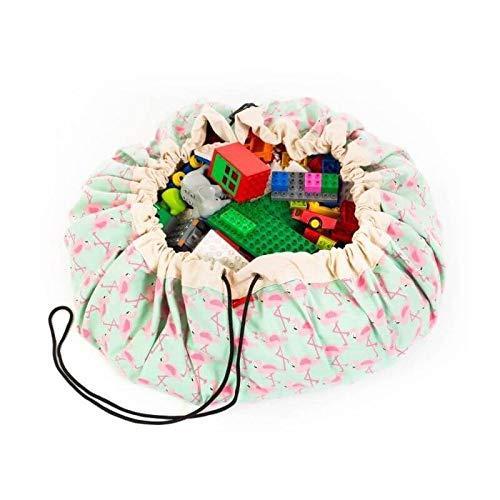Play and Go Flamingo - Saco y manta de juegos