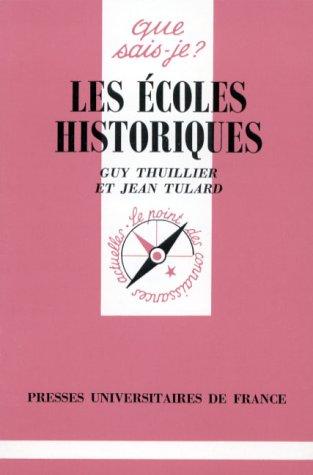 Les écoles historiques