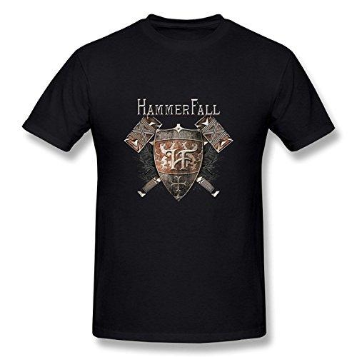 HUIMIN Men's Hammerfall T-shirt (XXX-Large)
