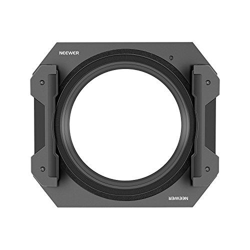 Neewer 100mm Quadratischer Metallfilterhalter für 100x100 mm 100x150 mm Filter mit Einem 82 mm Objektivadapterring -