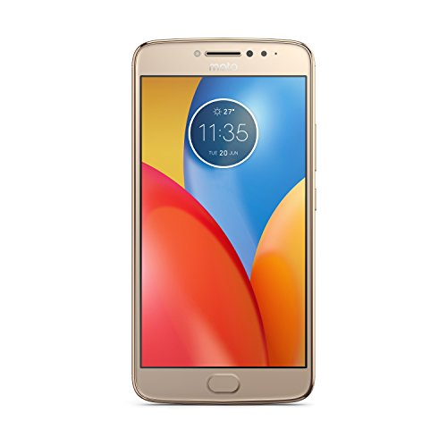 Motorola Moto E4 Plus Smartphone, 16 GB, Oro