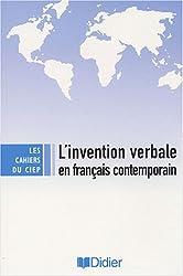L'invention verbale en français contemporain