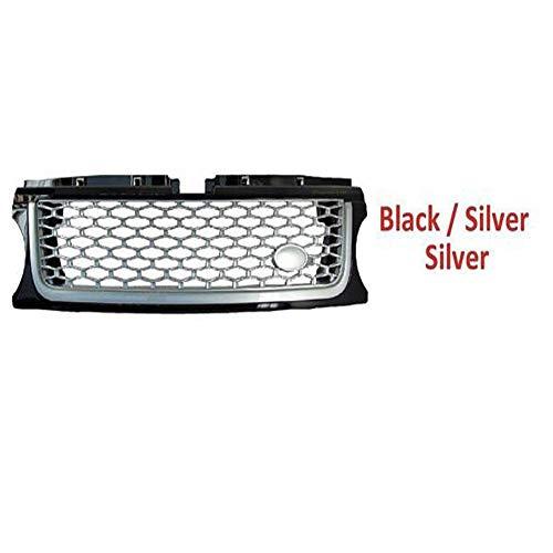 Hochwertiger Front-Mittelgrill-Autobiografie-ABS-Grill für den Land Rover Range Rover Sport 2010-2013, Fahrzeug 7 in verschiedenen Farben,5