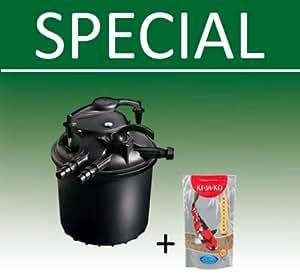 Sicce Kit filtre à pression greenre bassin 25, noir, 4000l/h